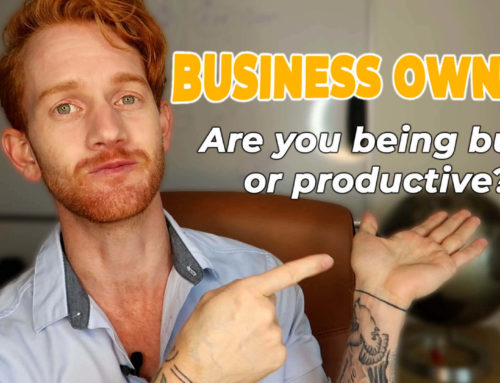 Are you being busy or productive?